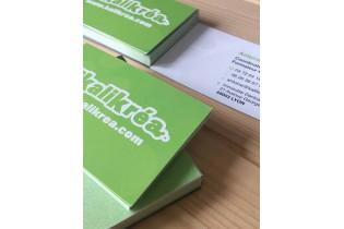 imprimerie carte de visite papier recyclé