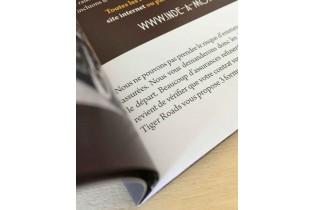 imprimerie en ligne brochure A4 fermé / A3 ouvert