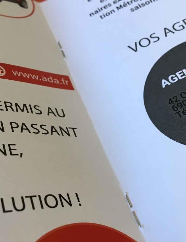 imprimerie à lyon spécialiste brochure A5 A4