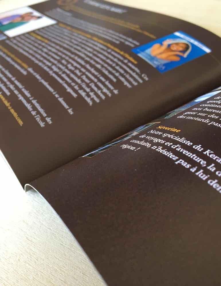 impression brochure format carré lyon